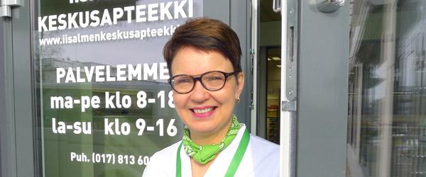 Arja Raatikainen Iisalmen keskusapteekki